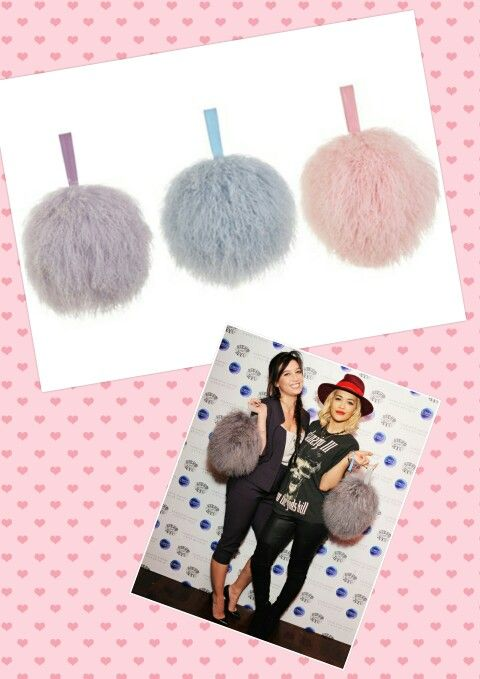 It's so Fluffy. ...Charlotte Simone's #BonBon bags....need to have one