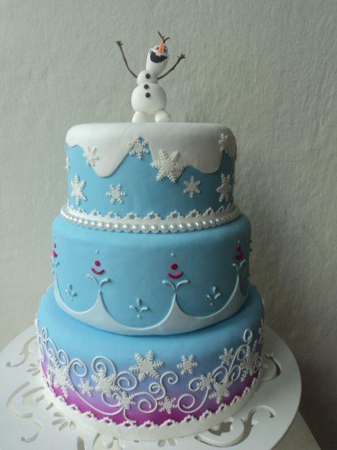 Frozen Party Cake Ideas Inspirations Disney Frozen Birthday