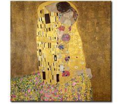 Картины великих художников - Поцелуй Климта