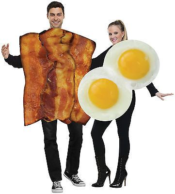 Halloween Costumes Couples Bacon And Fried Eggs Breakfast Food - food halloween costume ideas