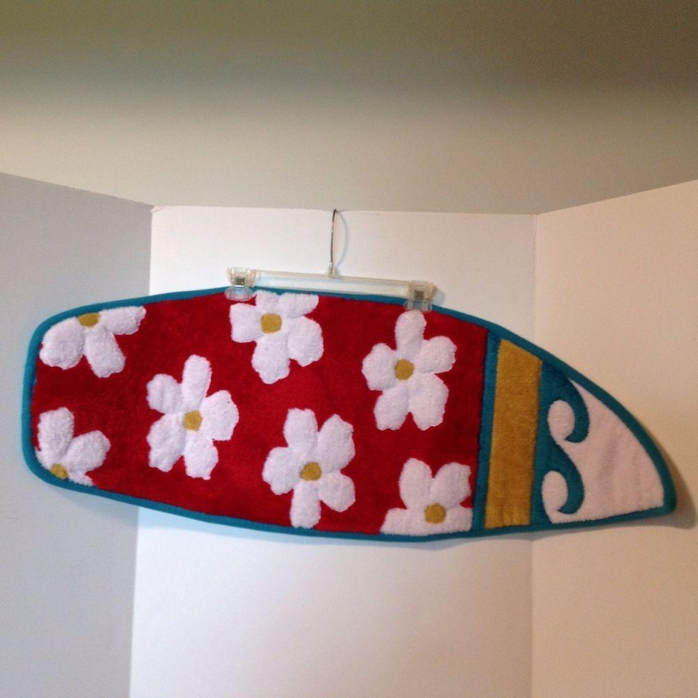 Mohawk home surf board rug red floral teal mohawk cent