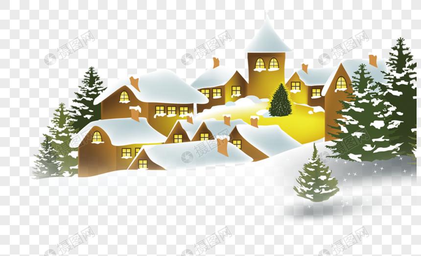 Winter House Winter House Christmas Snow House Christmas Promotion Cedar Winter Template Design Web App Design Christmas Promotion