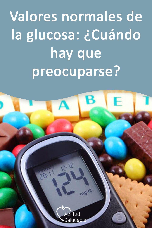 rango de glucosa saludable para diabéticos