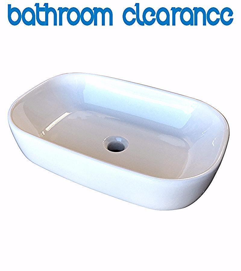 Cima 360x540 Basin Bathroom Clearance