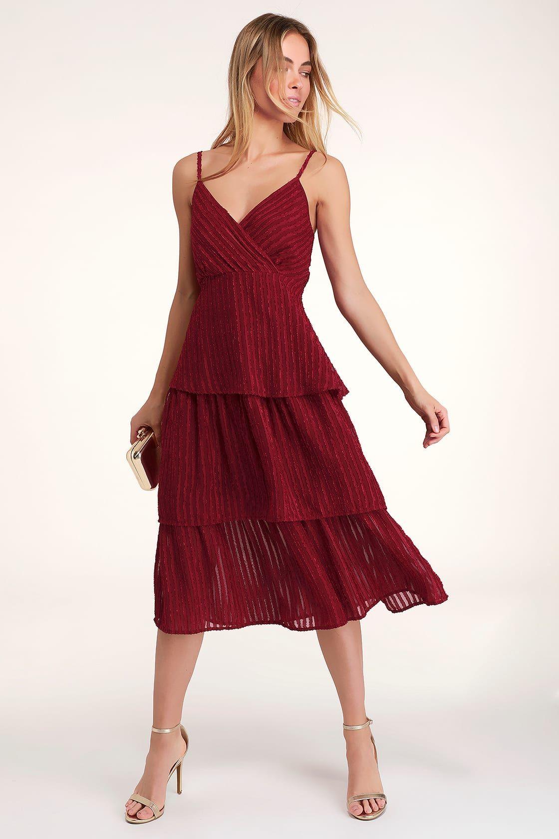 Caruso Midi Dress Wine Dresses Midi Dress Wine Dress [ 1350 x 1080 Pixel ]
