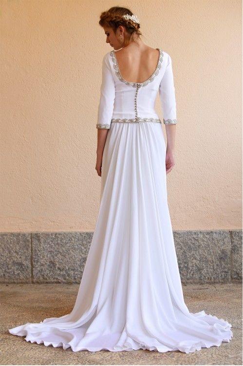 Lookbook Novia Modelo Irina Martha Peters . Diseñadora de moda . Zaragoza da623fcfcfae
