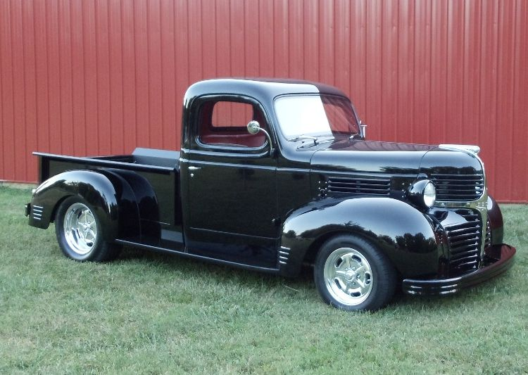 Our 1941 Dodge Truck Side View