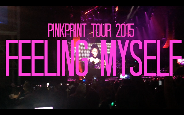 PinkPrint Tour   Outfit   Feeling Myself Live Performance