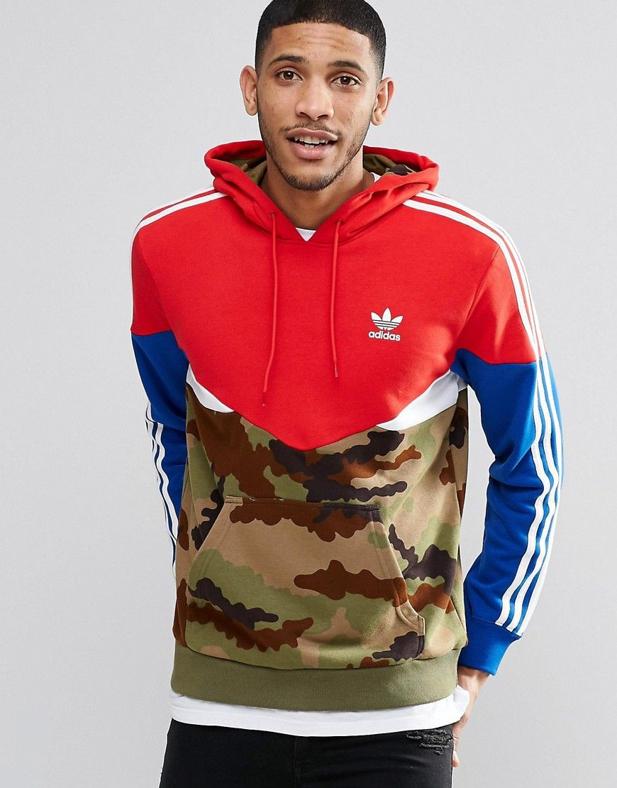 Image 1 of adidas Originals Camo Pack Hoodie AY8106