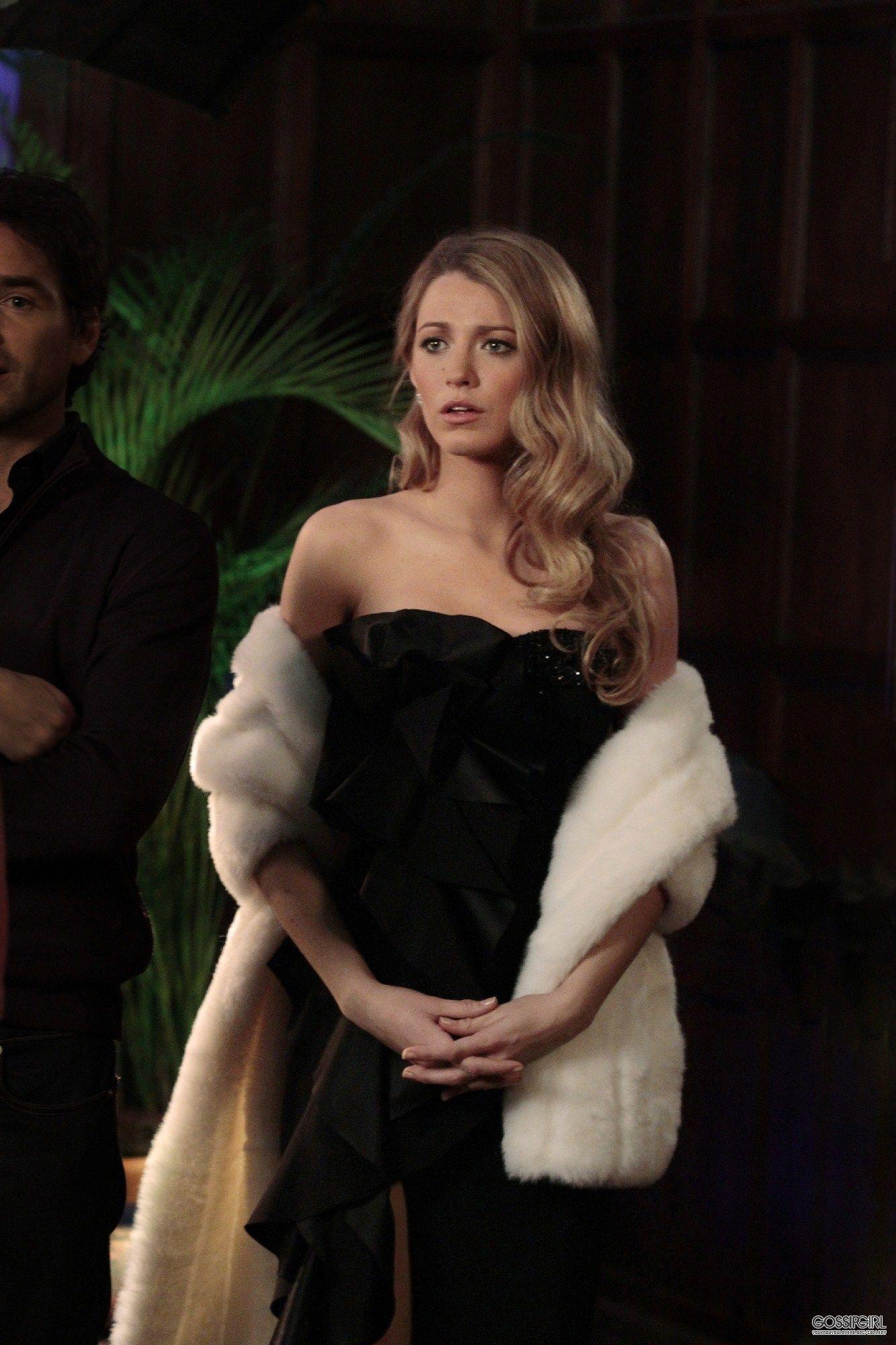 Blake Lively As Serena Van Der Woodsen In Gossip Girl Upper East