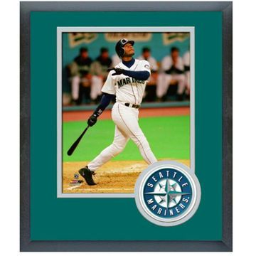 "Ken Griffey Jr Seattle Mariners 2016 MLB Hall Of Fame 13"" x 16"" Player Photo"