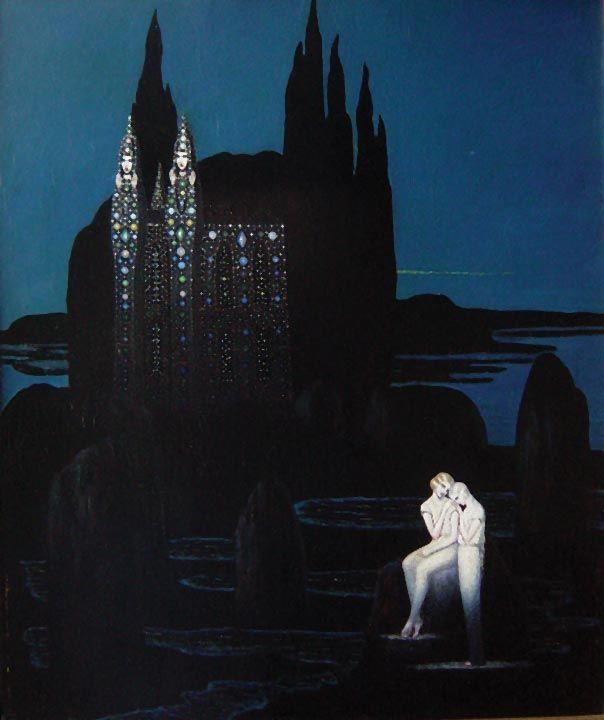 Chateau De Tentation C 1925 By Boleslas Biegas With Images