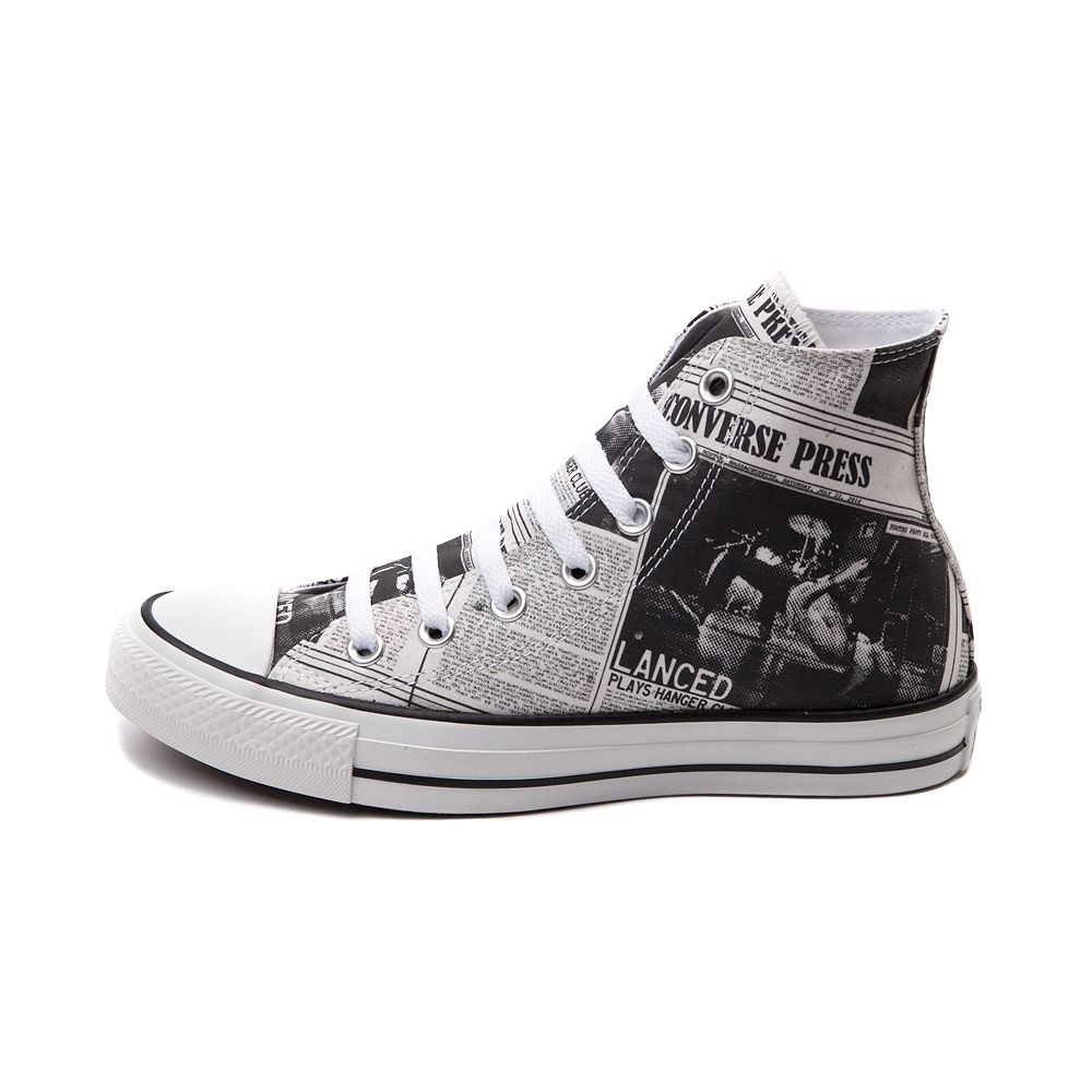 Converse press All Star Newspaper Hi fashion Sneaker athletic shoes unisex