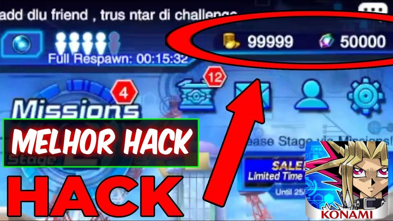 Yu-Gi-Oh Duel Links Hack Tools - No Verification - Unlimited