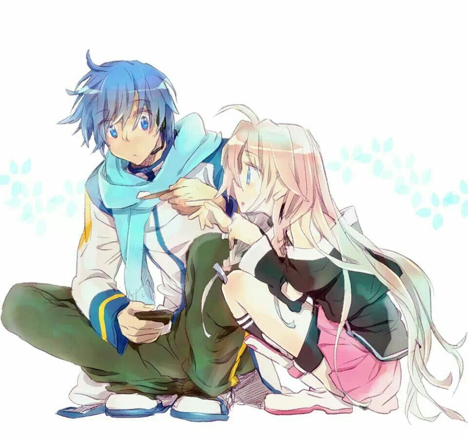 Image result for IA and kaito