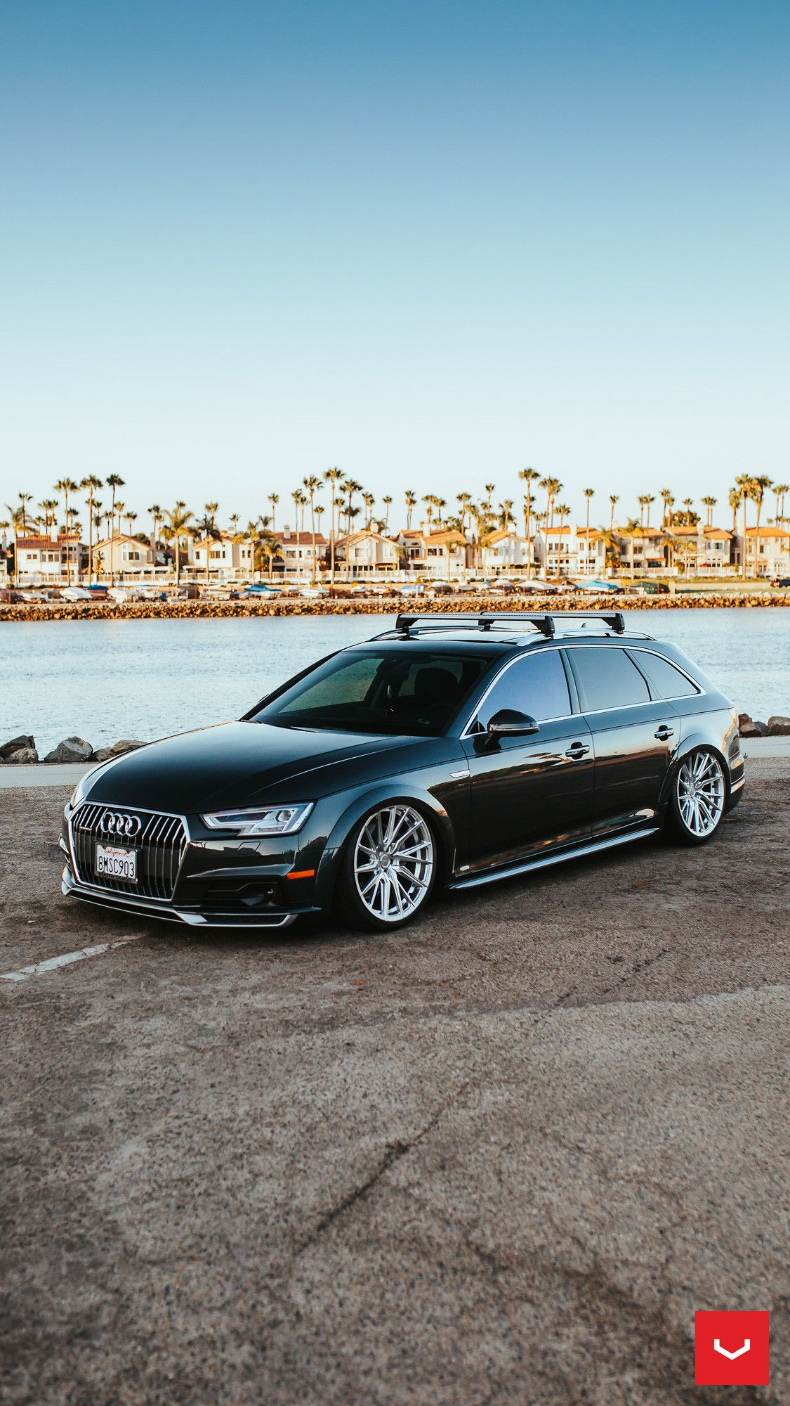 Audi A4 Allroad Hybrid Forged Series Hf 4t C Vossen Wheels 2020 54 In 2020 Vossen Vossen Wheels Audi A4