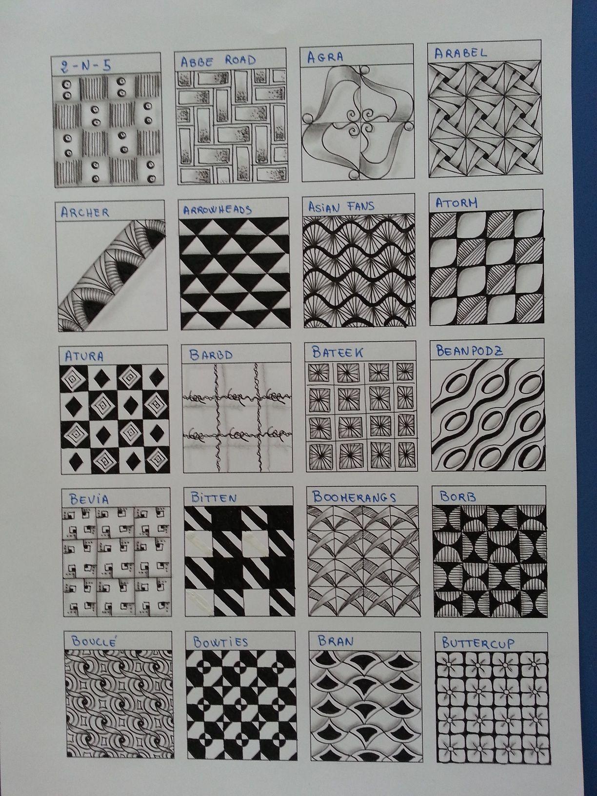 zentangle patterns on pinterest tangle patterns zentangle patterns. Black Bedroom Furniture Sets. Home Design Ideas