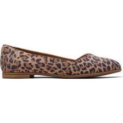 Toms Schuhe Leopard Suede Julie Ballerinas Für Damen – Größe 36.5 TomsToms