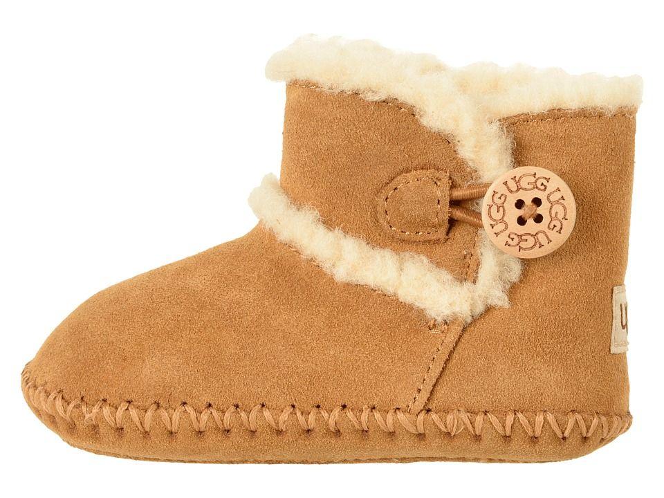 UGG Kids Lemmy II (Infant Toddler) Kids Shoes Chestnut  8a7a7881a