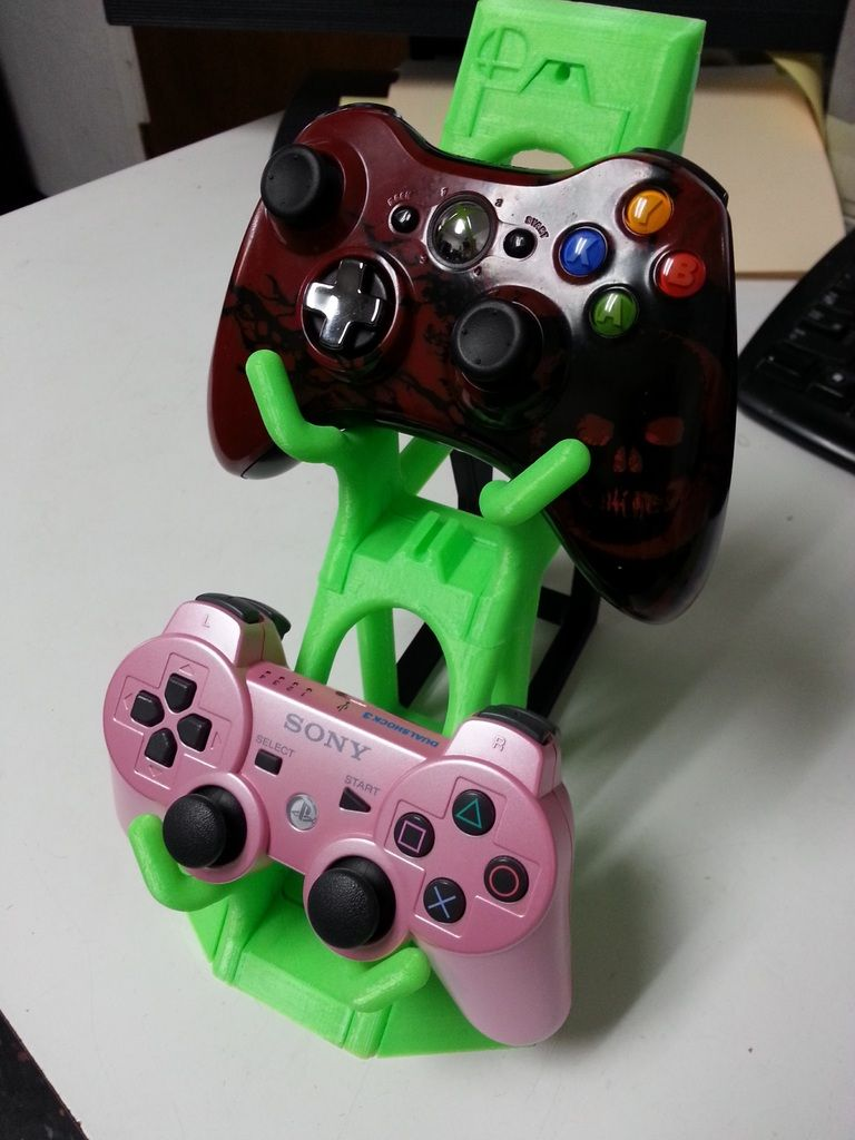 Stackable Controller Holder Rack By Concavechest 3d