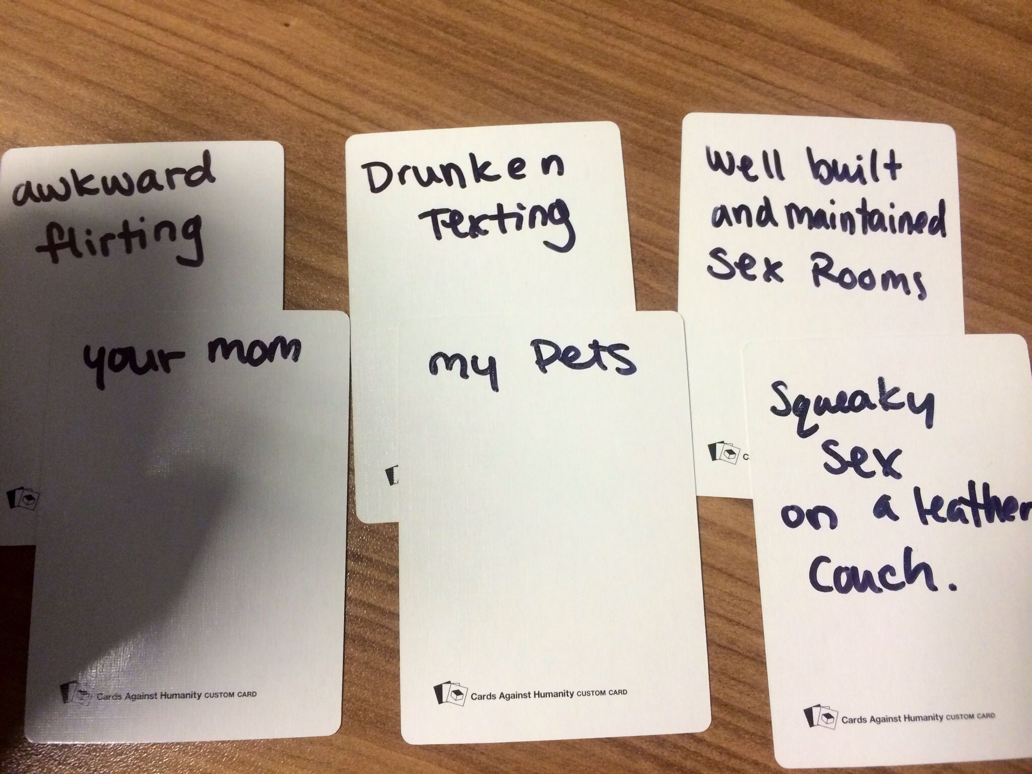 Awesome Make Your Own Cards Against Humanity Ideas Part - 8: Cards Against Humanity Blank Cards