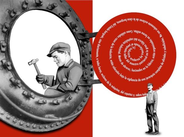 Stunning Spanish Illustrations For The Communist Manifesto Illustration Illustrators Graphic Image