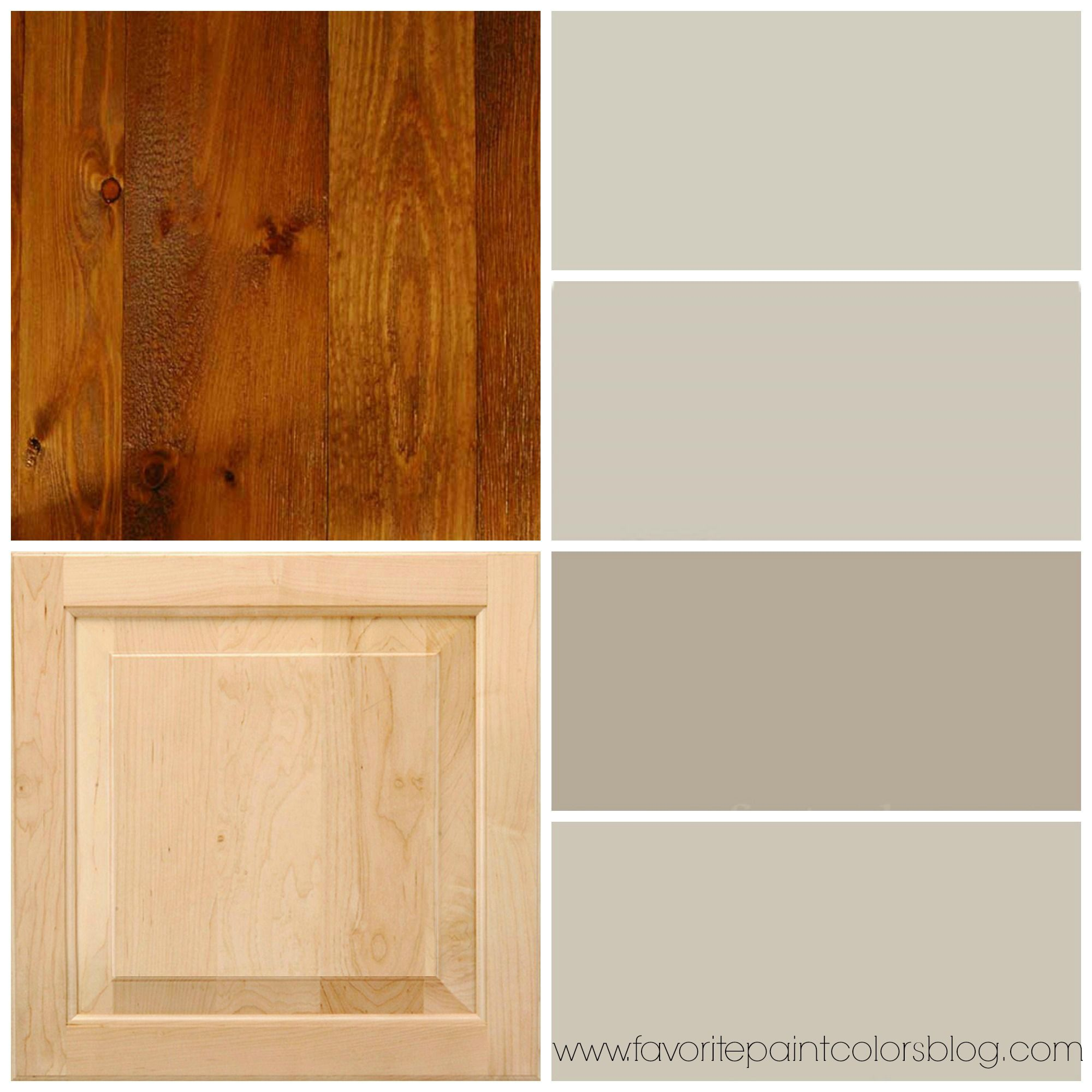 Paint Colors For Kitchens With Golden Oak Cabinets To Do: Reader's Question + More Paint Colors To Go With Wood (Red