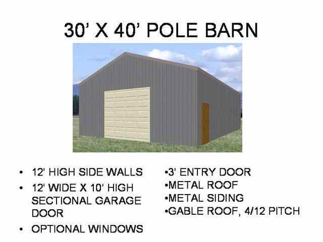 Plan To Building Barn Pole Garage Find House Plans Pole Barn