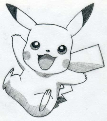 How To Draw Pikachu | Ideas & DIY | Pinterest | Pikachu ...