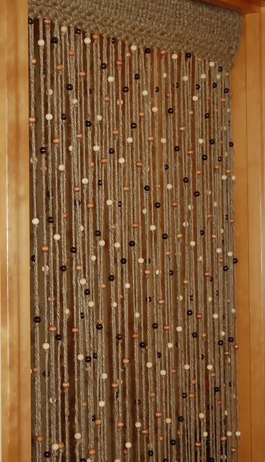 Top 6 Room Divider Designs Decor Pinterest Hanging beads