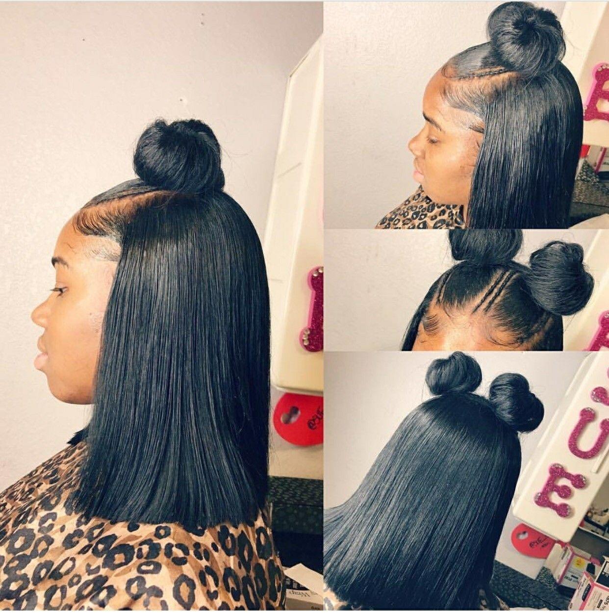Follow me ĻĔĖǨǞ hair pinterest black girls hairstyles girl