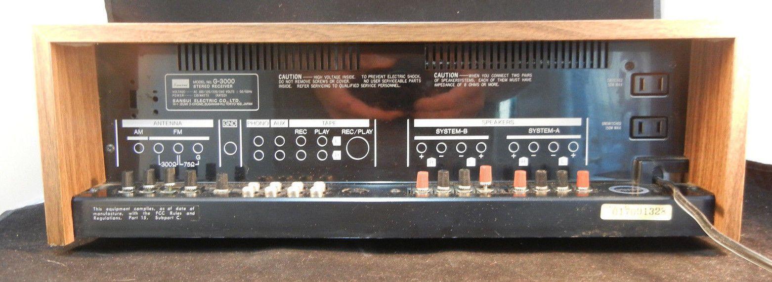 g-3000 sansui