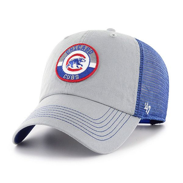 Chicago Cubs Adjustable Porter Mesh Cap by  47  ChicagoCubs  Cubs  OwnItNow b313b4ec2e6a