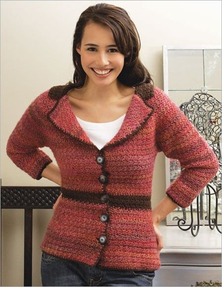 February Riding Jacket | Interweave Crochet Winter 2008