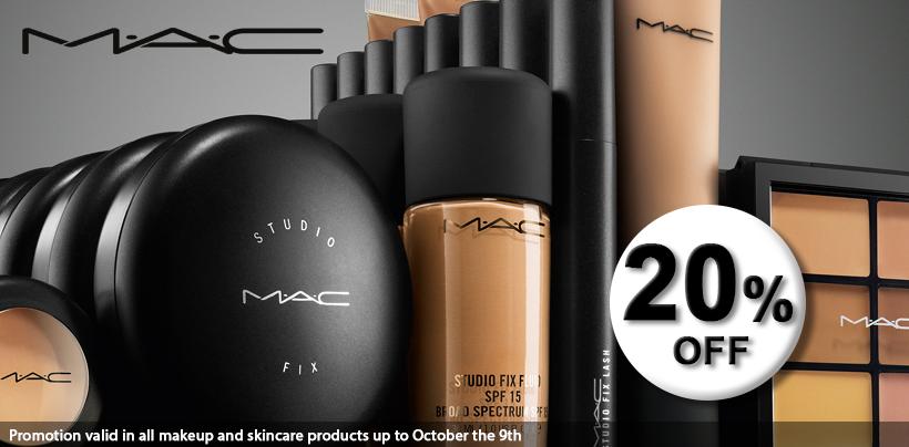 Toda a marca M·A·C com 20 de desconto na Loja Glamourosa