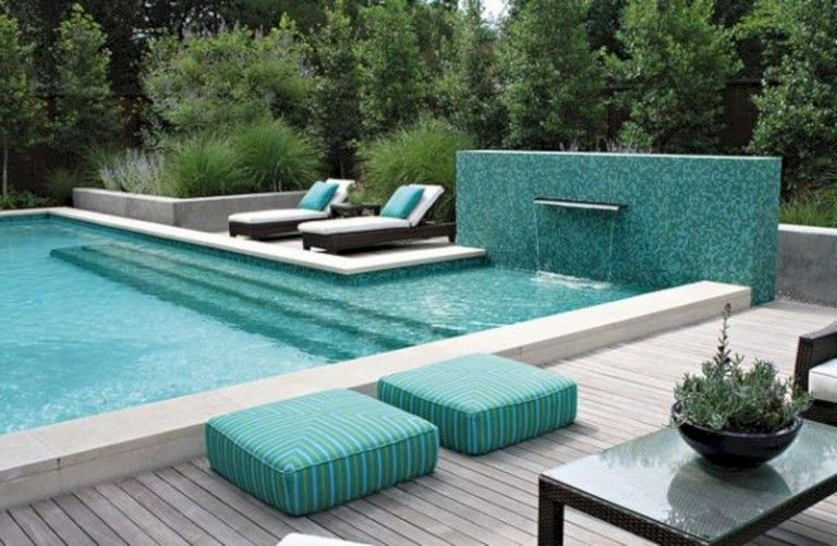 31 Lovely Outdoor Pool Decorating Ideas Page 8 Of 33 Outdoor Pool Decor Backyard Pool Designs Pool Decor