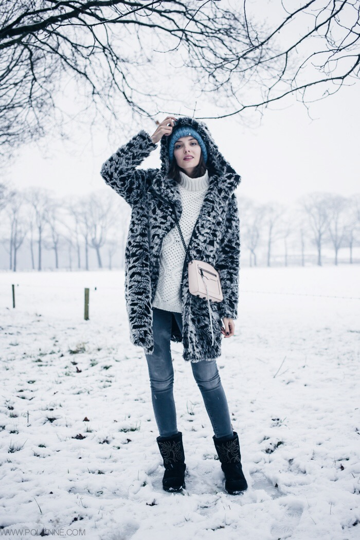 Polienne | a personal style diary: SNOW LEOPARD