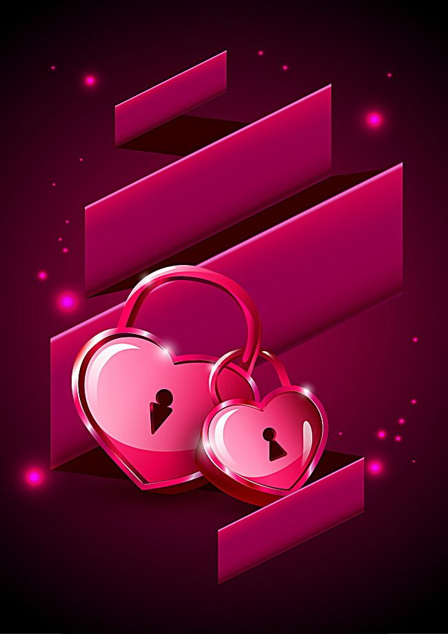 Love lock mobile wallpaper