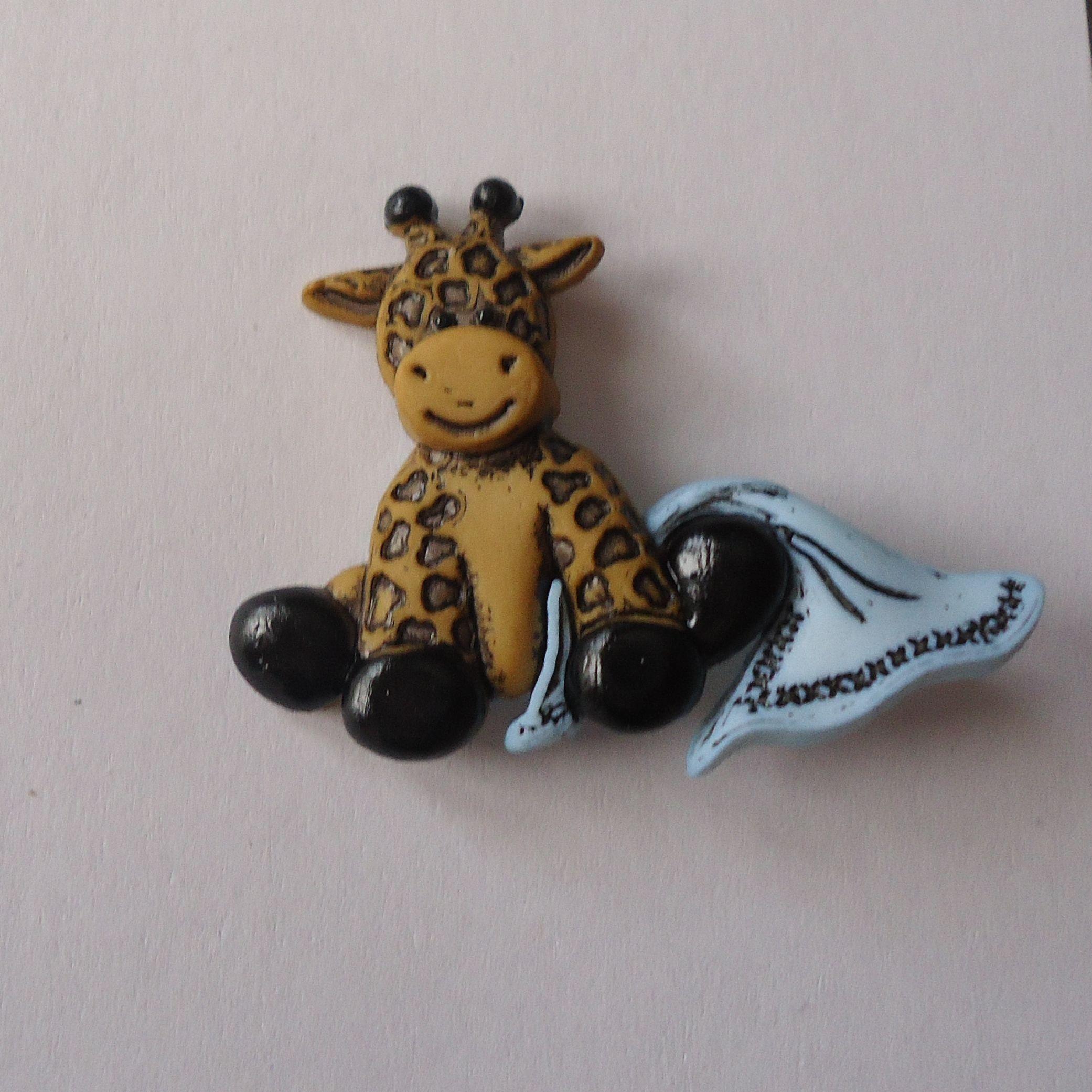 Giraf - Ritsen/Knopen/Sluitingen - Fournituren