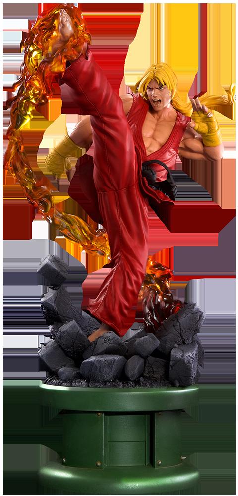 Ken Masters Classic Statue Personagens Street Fighter Street Fighter Figura De Acao