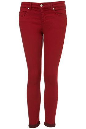 Petite MOTO Red Leigh Jeans.... I want