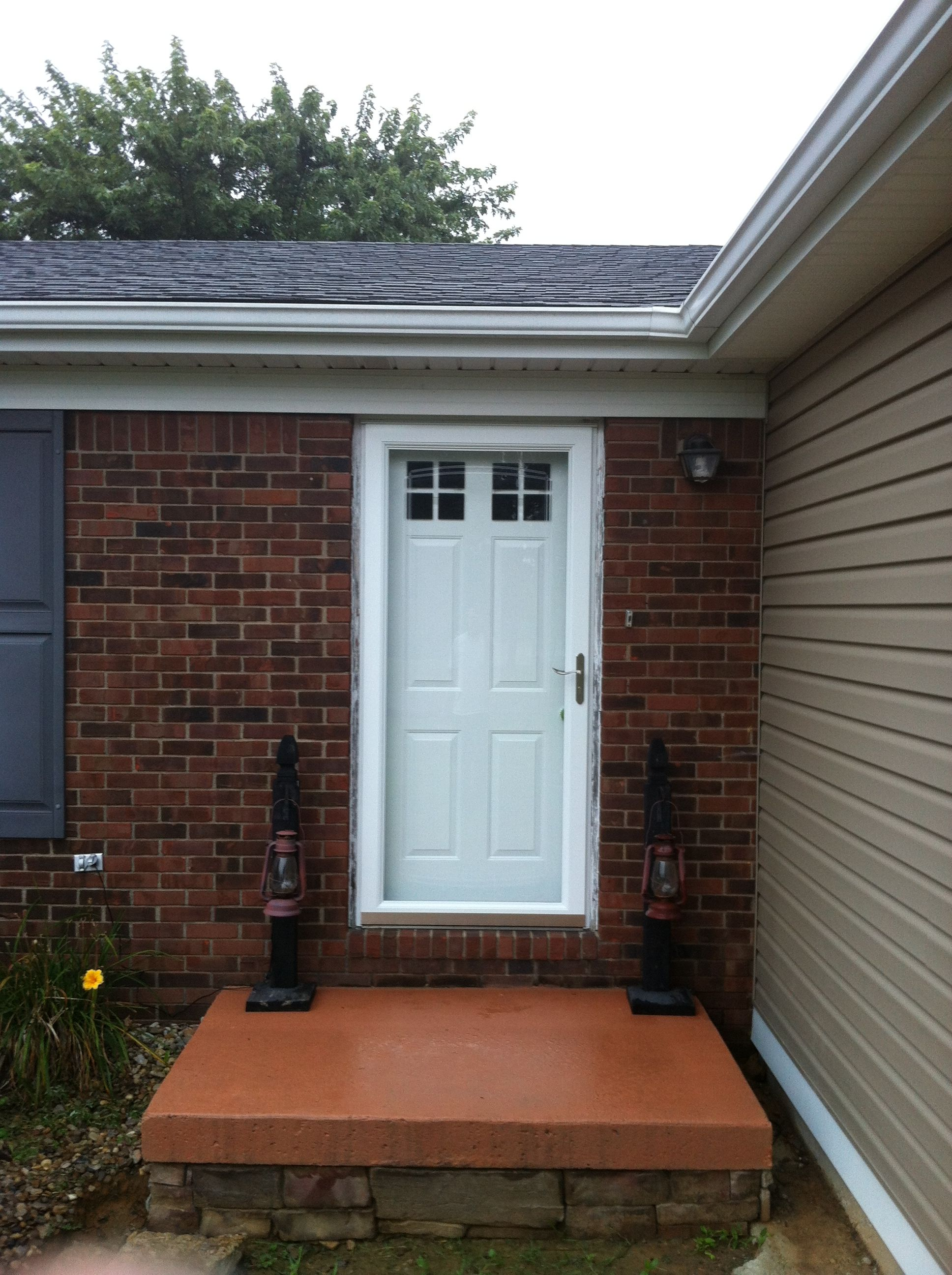 Faux Windows for entry door. Our front door needed a makeover, so we ...