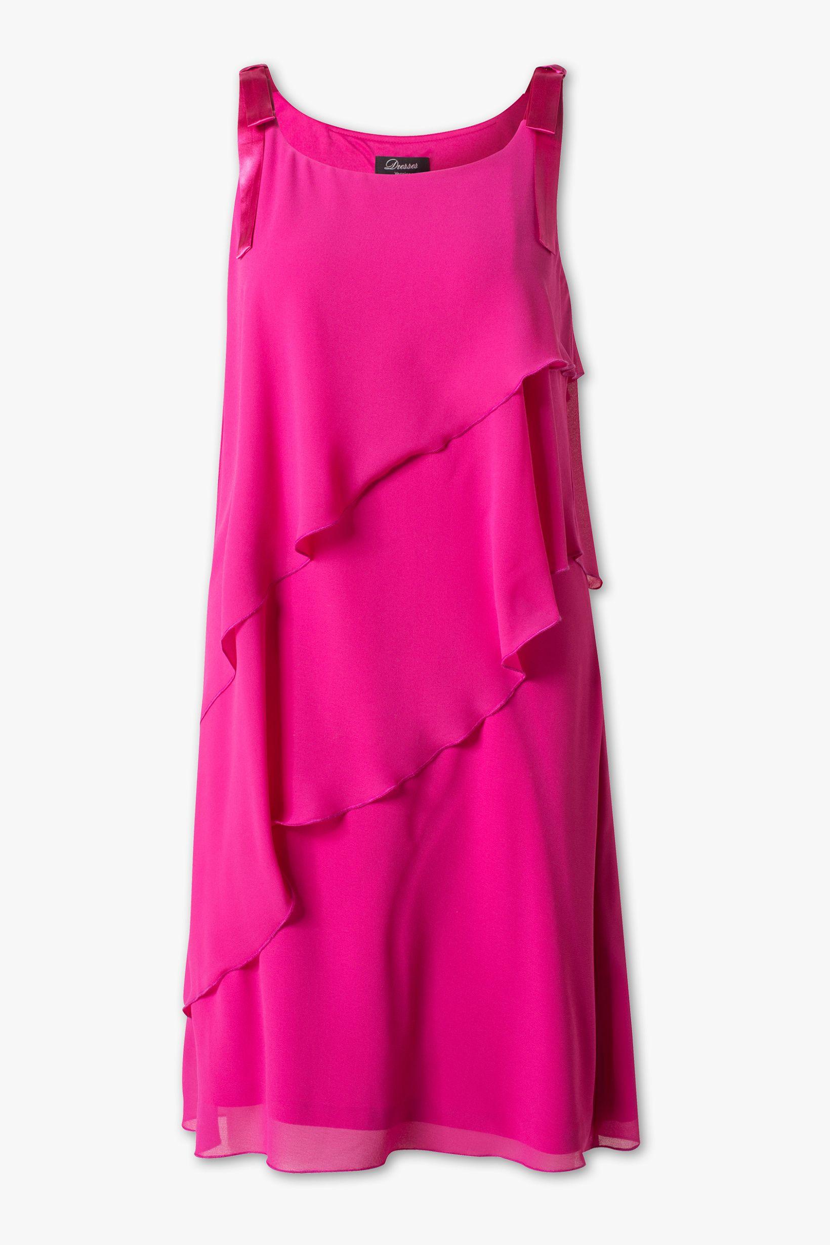 A-Linien-Kleid - pink | Kleider, Mode und Pinkes kleid