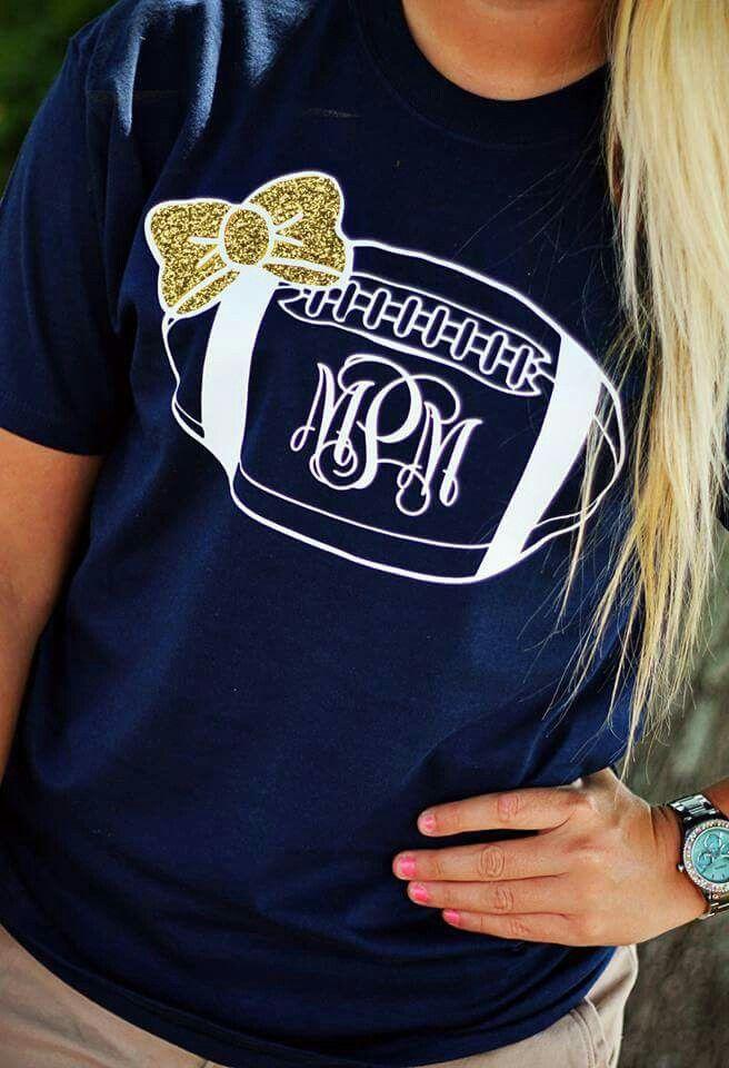 cd466bcb5 Football | Shirts | Cheer shirts, Football mom shirts, Football ...