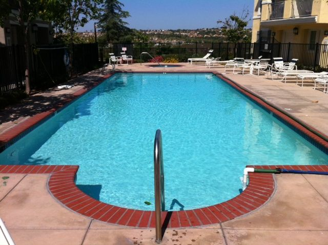 25 000 Gallon Pool That Was Recycled Due To High Calcium Levels Pool Recycling Outdoor Decor