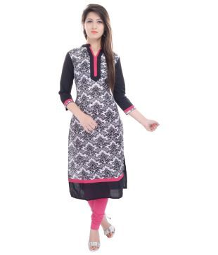 c389f9bba Haritage Jaipur Black Cotton Kurti Price in India - Buy Haritage Jaipur  Black Cotton Kurti Online at Snapdeal. Find this Pin and more on Things to  Wear ...