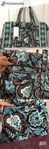 Vera Bradley Iconic large duffle bag travel bag New Vera Bradley large duffle ba...