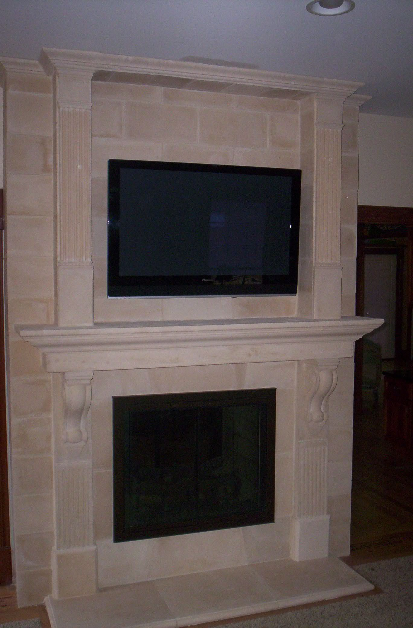 wall mount flat screen above fireplace fireplaces pinterest