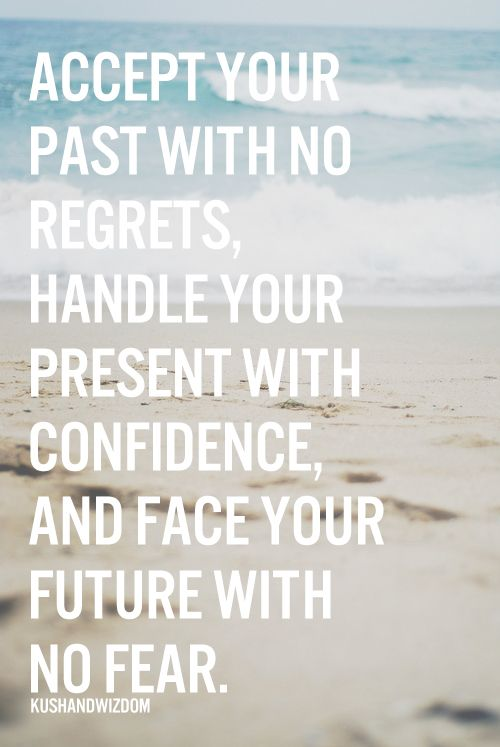 Handle your present with confidence.