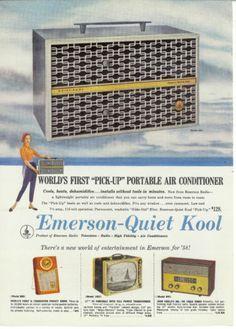 Vintage Air Conditioner Emerson Radio Air Conditioner Vintage